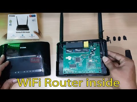 D-link Wireless N300 Router unboxing || D-link WiFi N300 Router Disassembly