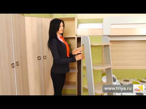 «Киви» модульный набор мебели для детской комнаты