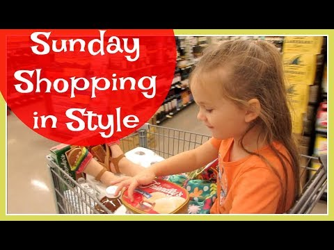 Sunday Shopping in Style (August 27, 2017 Vlog)