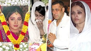 All Bollywood SAD Reactions On Sridevi PASSING AWAY At A Young Age
