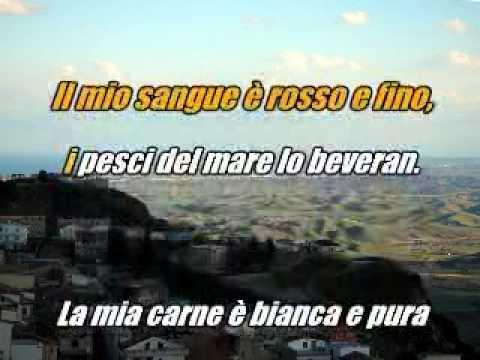 Mamma Mia Dammi Cento Lire. video karaoke di poerio alfredo
