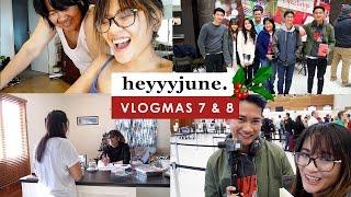 VLOGMAS 7 & 8 | Filipino food + saying goodbye to my brothers!