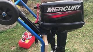 Лодочный мотор MERCURY 9,9MH 169СС