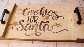 DIY CHRISTMAS COOKIE TRAY | Craft Adventures