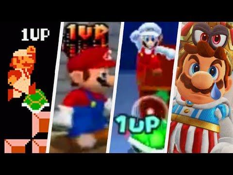 Super Mario Evolution of Infinite Lives Trick (1985 - 2017)