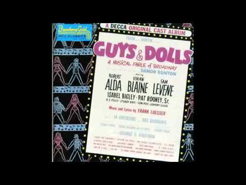 Guys and Dolls Original Broadway - Luck Be A Lady
