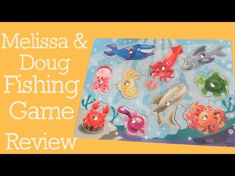 Melissa And Doug Magnetic Fishing Puzzle Game Review