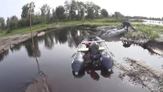 Видео отчет по рыбалке на реке Тура в Созоново и старице Монастырская Прорва (3 июля 2016)