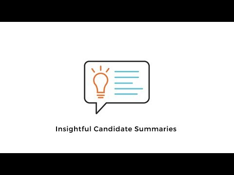 Insightful Candidate Summaries | Sovren
