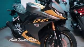 Stripping Terbaru Yamaha R15 Racing Yellow