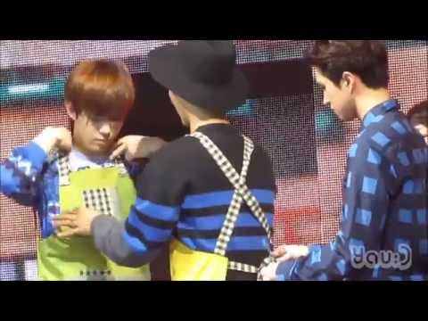 [FANCAM] 150117 VIXX(빅스) N mum Please help meㅠㅠ!! (엔 엄마 & 이홍빈 & 켄) Hong Kong(홍콩) 1st Fan Party