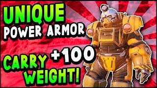 Fallout 76 - HOW TO GET EXCAVATOR POWER ARMOR Guide & Where To Find Black Titanium, Screws, Springs
