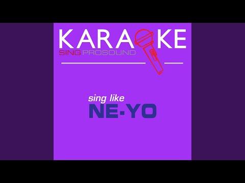 Can We Chill (In the Style of Ne-Yo) (Karaoke Instrumental Version)