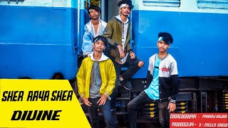 SHER AAYA SHER || GULLY BOY || DIVINE || Dance Choreography 2019 || X-MELLO OFFICIAL Video