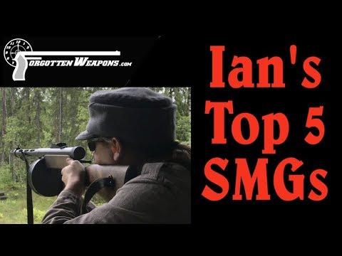 Ians Top 5 SMGs