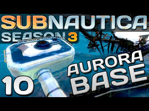 Subnautica Gameplay - Ep. 10 - AURORA BASE MOONPOOL | Let's Play Subnautica!
