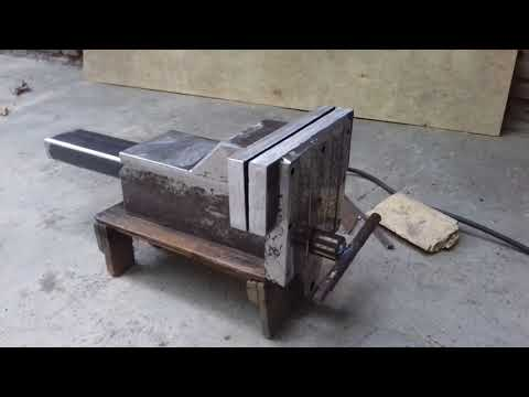 Homemade large vise clamp