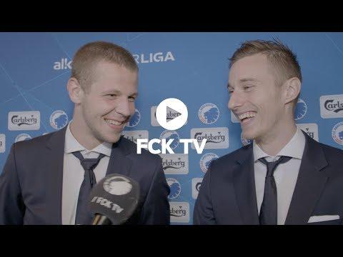 Det slovakiske talkshow: Greguš interviewer Vavro efter hans første mål