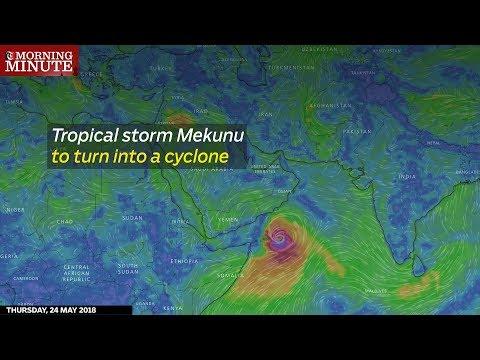 Tropical storm Mekunu to turn into a cyclone