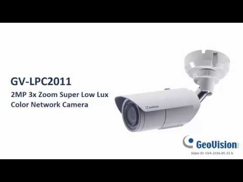 GeoVision GV-LPC2011 Color LPR Camera (3x, Super Low Lux, max 60 km/h)