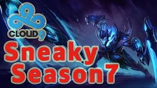 C9 Sneaky Draven ADC vs Lucian Patch 7.1