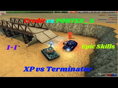 Credit Vs PORTES_S 1-1 Zone (XP Vs Terminator) - Epic Skills