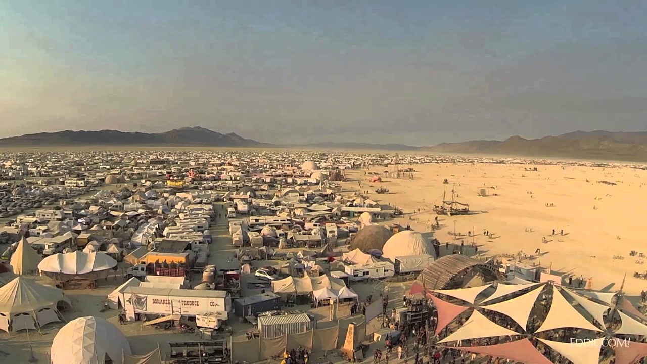 Iss Wallpaper Hd Drone S Eye View Of Burning Man 2013 Youtube