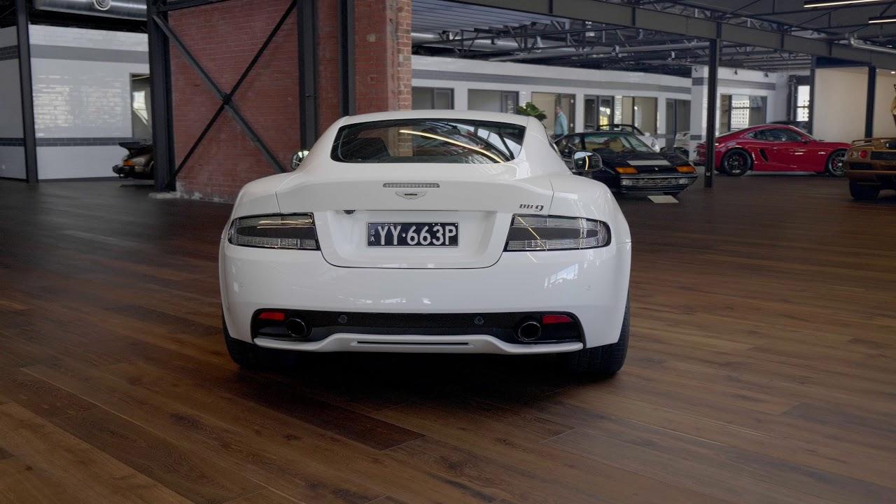 Richmonds Automotive Group Aston Martin Db9 Carbon White Youtube