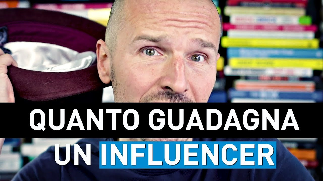 quanto guadagna un influencer youtube