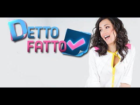 DETTO FATTO -CAMBIO LOOK- PARODIA - YouTube