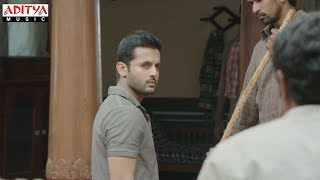 A Aa Scenes || Nithiin Action Scene #4 | Nithiin, Samantha | Trivikram | A Aa (Hindi Dubbed Movie)