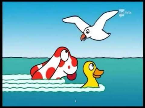 La pimpa italiano la pimpa e olivia paperina al mare - Cartoni animati mare immagini ...