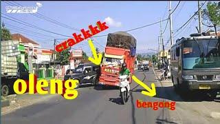 Gambar cover OLENG PARAH GAYOR,,truk oleng gayor hampir gasruk.