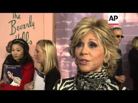 NEW Jane Fonda honored at event by Hollywood Reporter