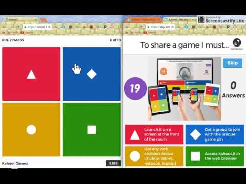how to play kahoot quiz
