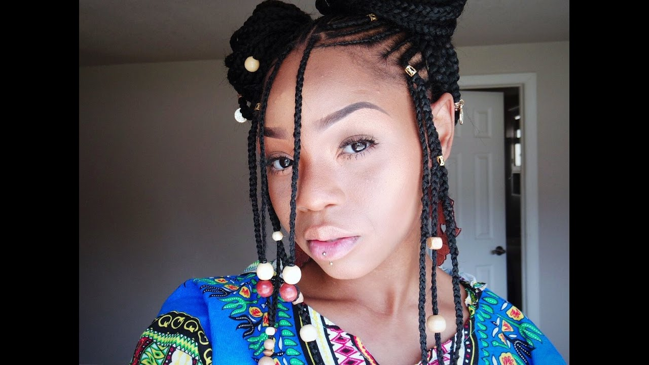 Fulani Alicia Keys Braids Quot Tutorial Quot Phivestarhair Youtube