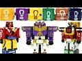 파워레인저 애니멀포스 무장큐브 6개 총출동! 변신로봇 장난감 공룡 콘돌와일드킹 애니멀킹 Power Rangers Robot Toys
