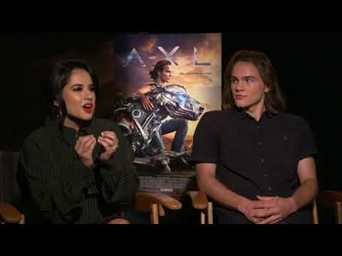 Becky G and Alex Neustaedter Talk About A-X-L