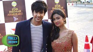 Ranvijay Gunjan Together At Red Carpet | Star Parivaar Awards 2015