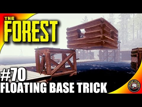 The Forest Gameplay - Floating Base Trick - Let's Play S16EP