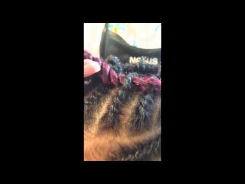 Senegalese Twist Mohawk