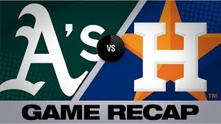 Altuve, Springer homer in Astros' 4-2 win | Athletics-Astros Game Highlights 7/24/19