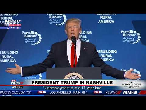 FULL SPEECH: President Trump In Nashville, Tennessee 1/8/18