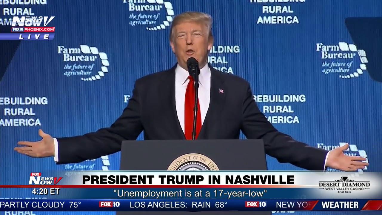 FULL SPEECH: President Trump In Nashville, Tennessee 1/8/18 (FNN)