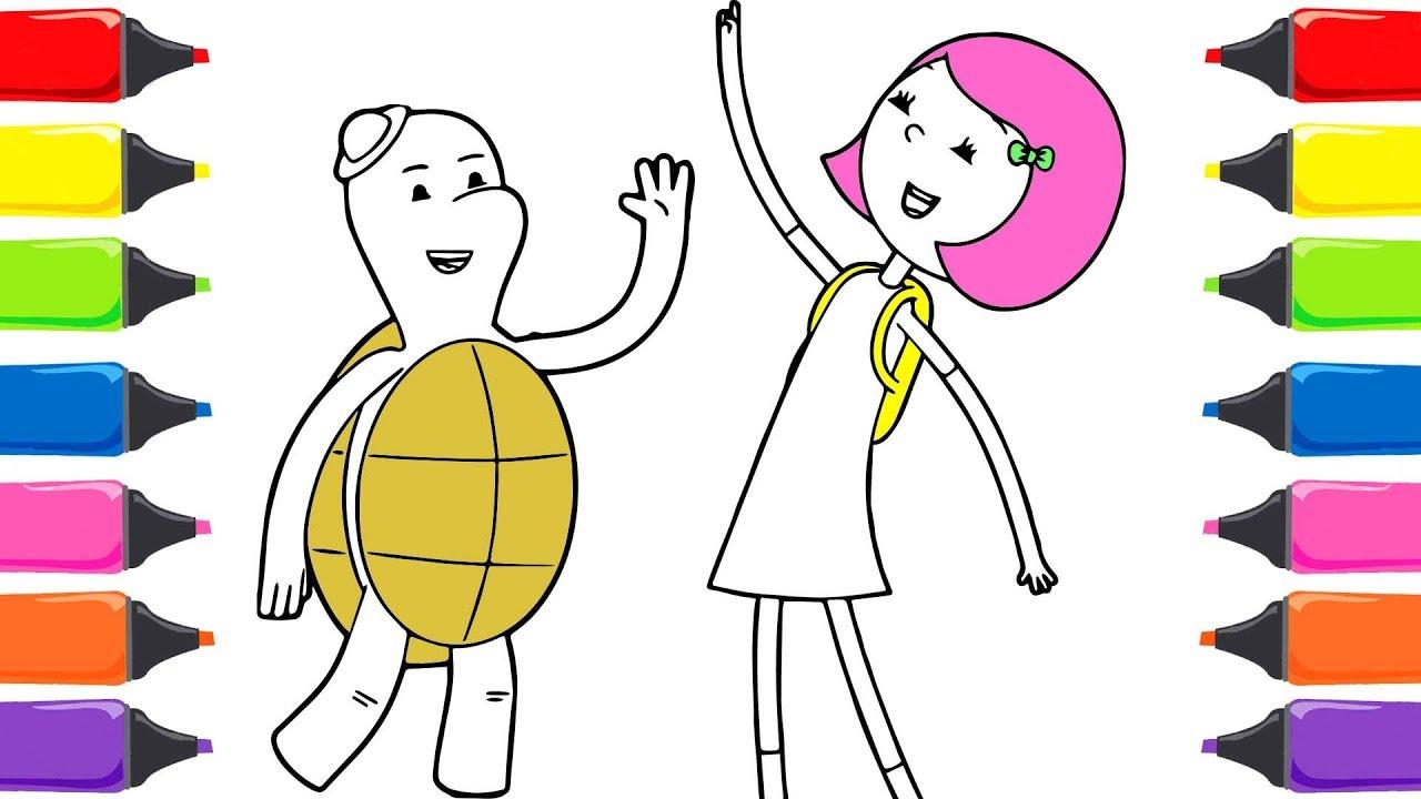 Ibi Tosi çizgi Film Renkleri öğreniyorum Renkler şarkısı Sihirli