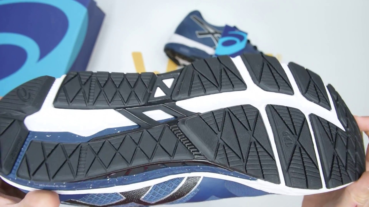 consumirse adecuado solar  ASICS Gel-Foundation 13 2E (Wide) - Blue Black - Unboxing | Walktall -  YouTube