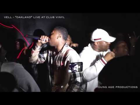 Vell - Oakland - Live performance at Club Vinyl