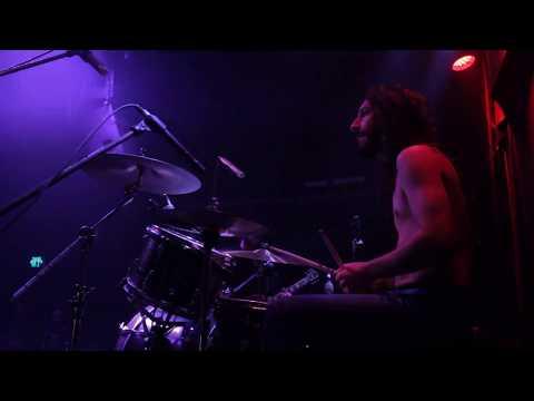 Ofer Bymel of ÖSTRA TORN drum cam live, Haifa 2017