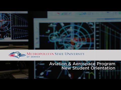 MSU Aviation & Aerospace Program New Student Orientation