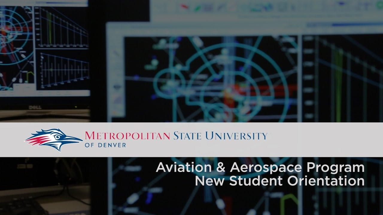 MSU Aviation & Aerospace Program New Student Orientation